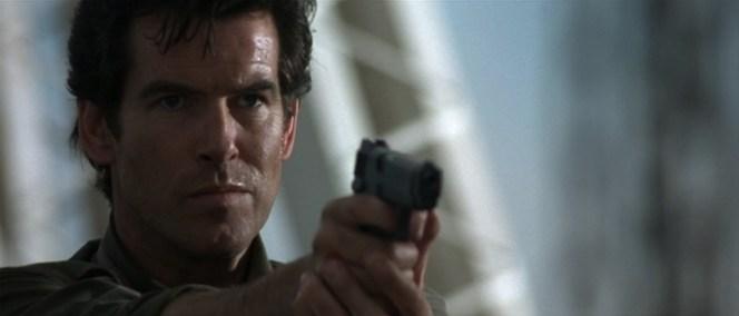 Badass Bond with a badass Browning.