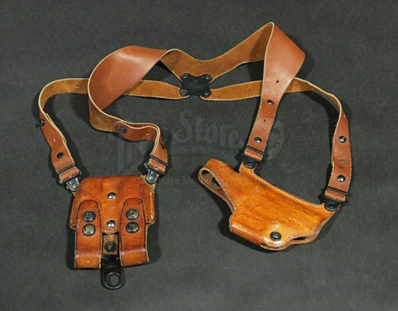 A replica holster auctiond by The Prop Store.