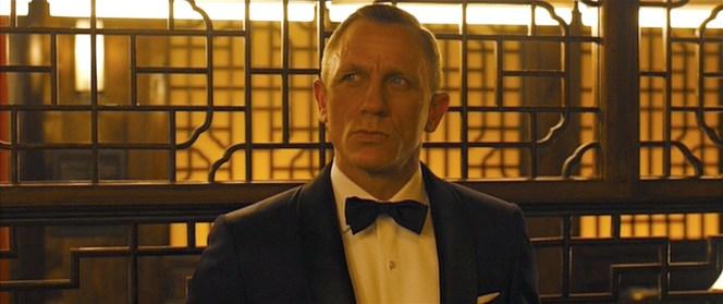 Bond sizes up his surroundings.