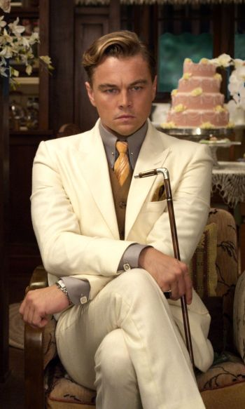 Leonardo DiCaprio as Jay Gatsby in The Great Gatsby (2013)