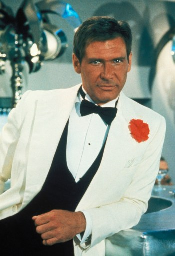 Harrison Ford as Indiana Jones in Indiana Jones and the Temple of Doom (1984).