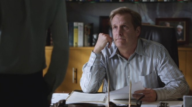 "Will looks beleaguered as usual in ""The Blackout Part II: Mock Debate""."
