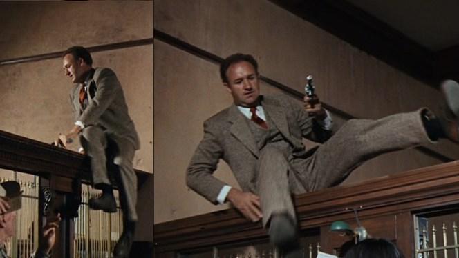 Hackman channels Dillinger channeling Fairbanks.