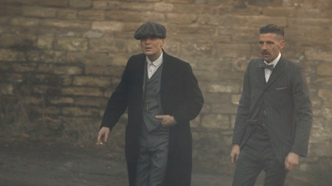 Tommy and Arthur arrive to deliver the big news to John.