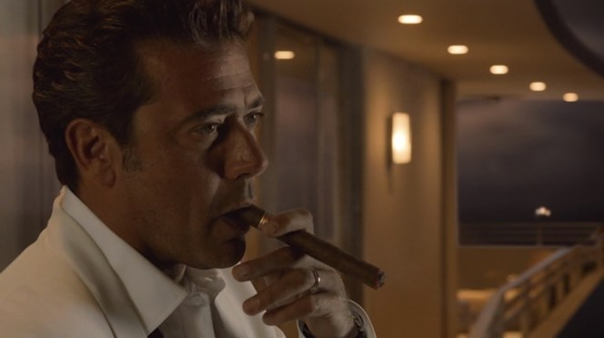 Thanks to Eric,who confirmed that the preferred cigars of Ike and all of Magic City's smokers are Partagás from Havana.