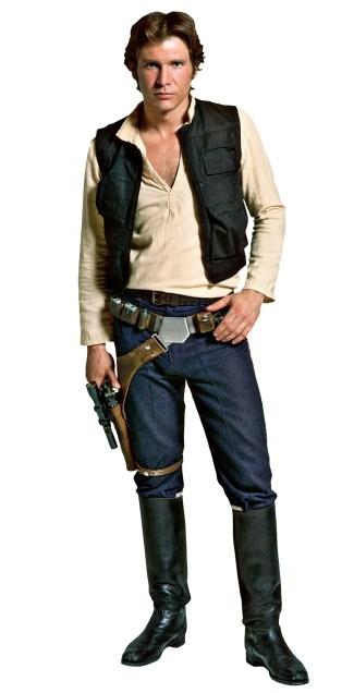 Harrison Ford as Han Solo in Star Wars (1977).