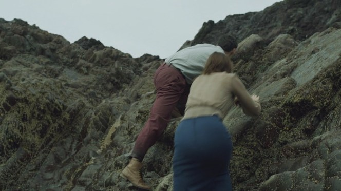 Lombard's magical oxfords can transform into similar-looking boots when traversing cliffs is in order.