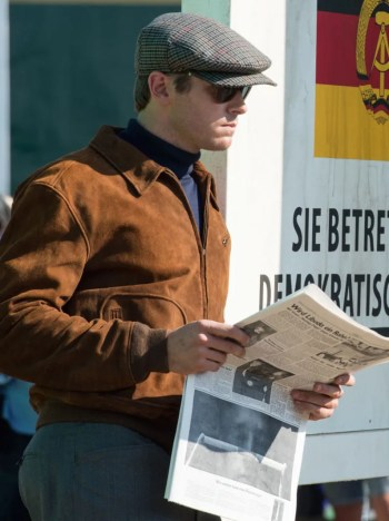 Armie Hammer as Illya Kuryakin in The Man from U.N.C.L.E. (2015)
