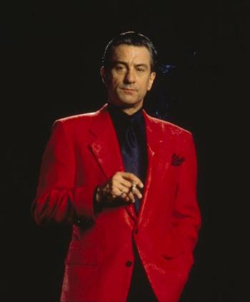 "Robert De Niro as Sam ""Ace"" Rothstein in Casino (1995)."