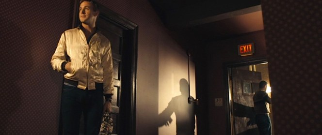 Director of photographer Newton Thomas Sigel nicely evoked film noir imagery in Drive.