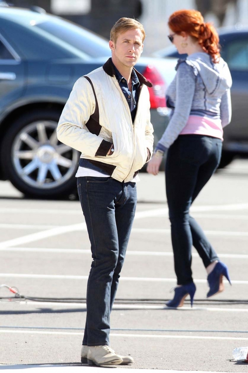 Ryan Gosling in Drive » BAMF Style