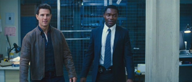 Jack Reacher and Detective Emerson.