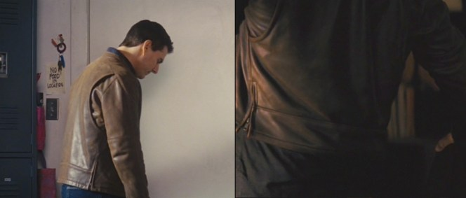 The pleats and zip-side vents on the back of Reacher's jacket allow him a greater range of movement.