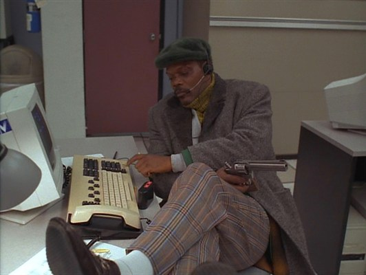 Only Samuel L. Jackson could make telemarketing look cool.