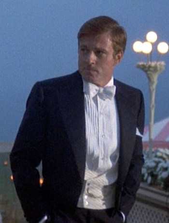 Robert Redford as Jay Gatsby in The Great Gatsby (1974)