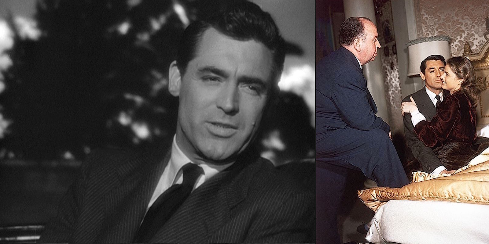 Notorious Cary Grant S Dark Pinstripe Suit Bamf Style