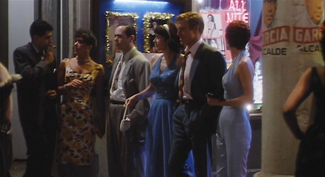 Jack Weil's walk of pride as he escorts Diane and Patty through the streets of Havana before finding their way back to the cozy confines of his hotel room.