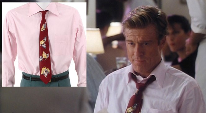 The tie may be the most dated element of Jack's ensemble.
