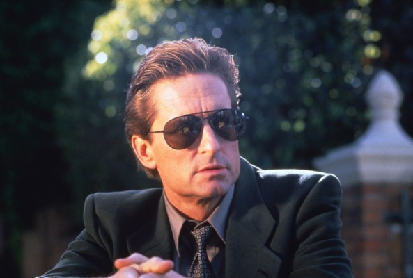 Promotional photo of Michael Douglas in Basic Instinct.
