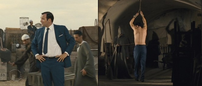 OSS 117 hangs out in Cairo.