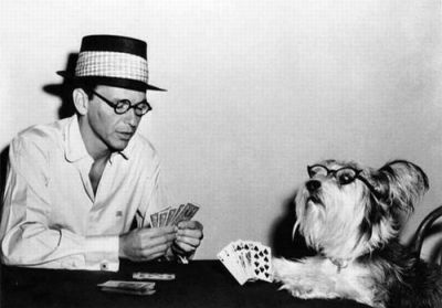 Because when you think poker, you think Sinatra, right?