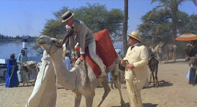 Luckily, Colonel Race's hat isn't enough straw to break this camel's back.