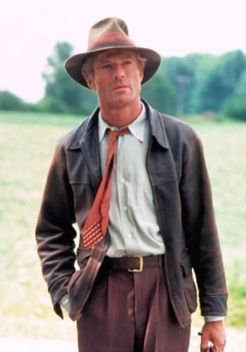 Robert Redford as Roy Hobbs in The Natural (1984)