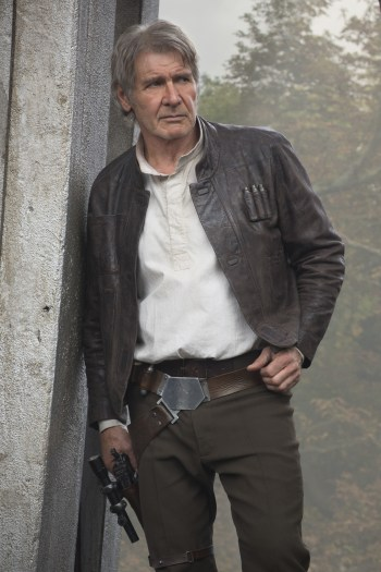 Harrison Ford as Han Solo in Star Wars: The Force Awakens (2015)