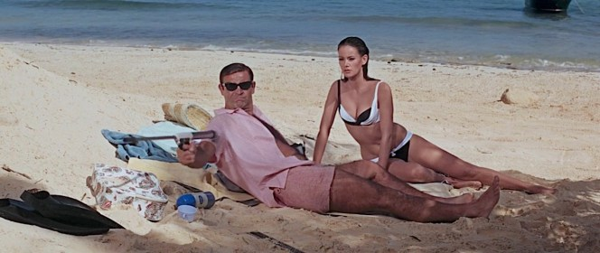 Sean Connery and Claudine Auger in Thunderball (1965)