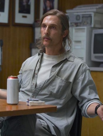 Matthew McConaughey as Rust Cohle on HBO's True Detective.
