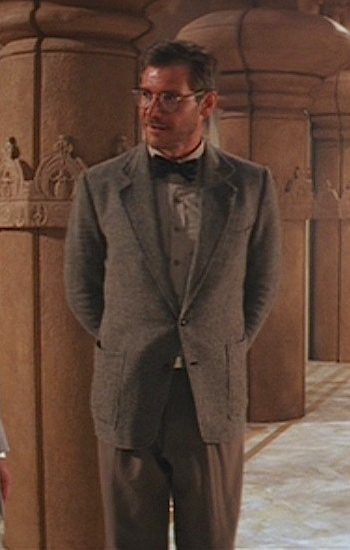 Harrison Ford as Indiana Jones in Indiana Jones and the Temple of Doom (1984)