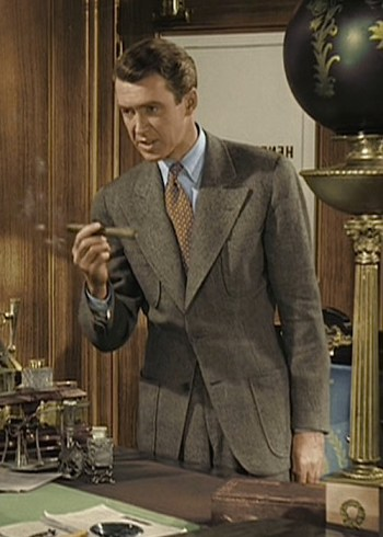 James Stewart as George Bailey in It's a Wonderful Life (1946)
