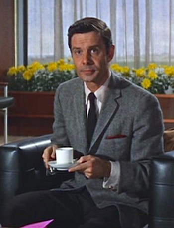 Louis Jourdan as Marc Champselle in The V.I.P.s (1963)