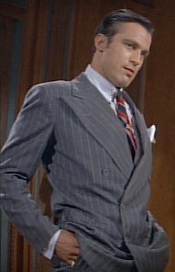 "Clint Ritchie as ""Machine Gun"" Jack McGurn in The St. Valentine's Day Massacre (1967)"