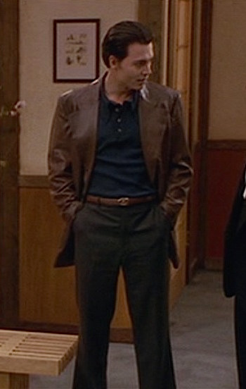 Johnny Depp as Joe Pistone, aka Donnie Brasco, in Donnie Brasco (1997)