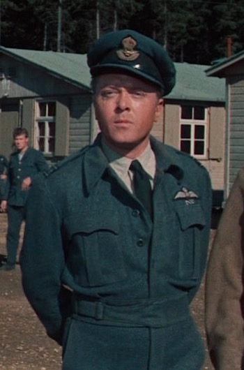 """Richard Attenborough as Squadron Leader Roger """"Big X"""" Bartlett in The Great Escape (1963)"""
