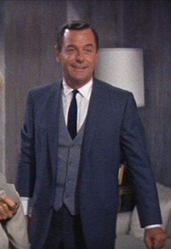 Gig Young as Roger in That Touch of Mink (1962)