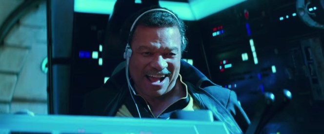 Welcome back, Billy Dee!