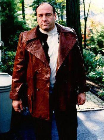 "James Gandolfini as Tony Soprano on The Sopranos (Episode 2.08: ""Full Leather Jacket"")"