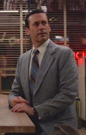 "Jon Hamm as Don Draper on Mad Men (Episode 7.08: ""Severance"")"