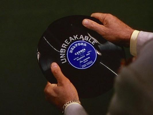 Unbreakable indeed.