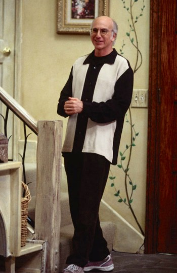 """Larry David on Curb Your Enthusiasm (Episode 3.01: """"Chet's Shirt"""")"""