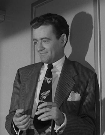 Robert Walker as Bruno Antony in Strangers on a Train (1951)