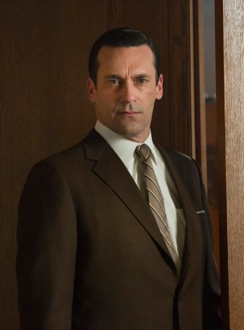 "Jon Hamm as Don Draper on Mad Men (Episode 7.05: ""The Runaways"")"