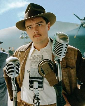 Leonardo DiCaprio as Howard Hughes in The Aviator (2004)