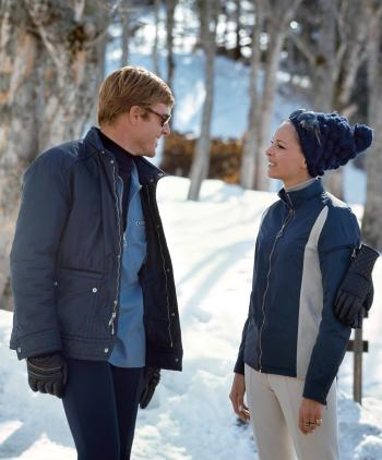 Robert Redford and Camilla Sparv in Downhill Racer (1969)