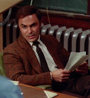 John Saxon as Lt. Ken Fuller in Black Christmas (1974)
