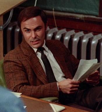 John Saxon as Lt. Ken Fuller in Black Christmas (1974)