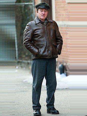 Robert De Niro as Frank Sheeran on the set of The Irishman (2019)