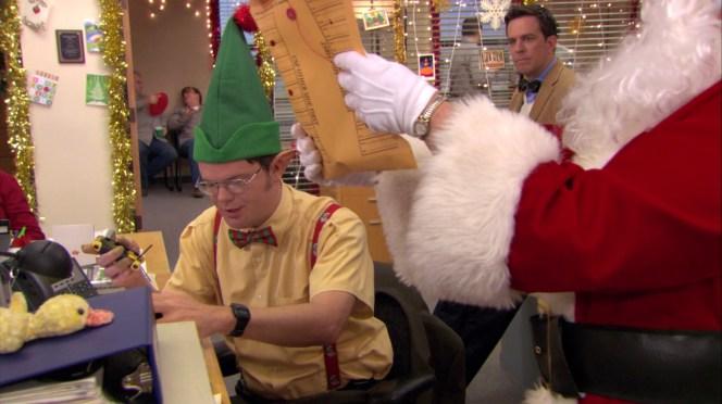 Like one of Santa's elves...